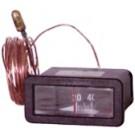 Thermomètre à cadran rectangulaire capillaire 3m