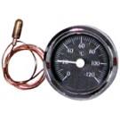 Thermomètre à cadran rond à bulbe et capillaire